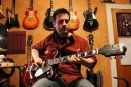 Michael rockin the Gretsch